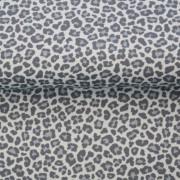 Leopard ljusblå