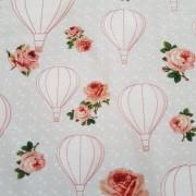 Trikå Luftballonger och prickar