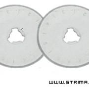 Skärblad till TEXI Rullkniv 28 mm 2-pack