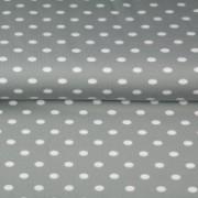 STENZO Grå/grön trikå med större vita prickar
