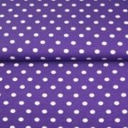 STENZO Knallila trikå med större vita prickar