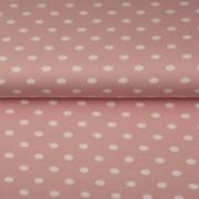 STENZO Mjukrosa trikå med större vita prickar