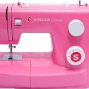 Singer Simple 3223R Tuggummirosa RETRO, inkl Luna Bandkantare, tvillingnål och extra trådpinne