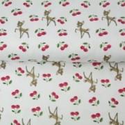 STENZO trikå små Bambi, vit