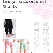 Baggypants - byxor, knickers, shorts mindre storlek
