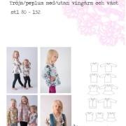 Fun and free - tröja och peplumtopp 80-152 239 kr