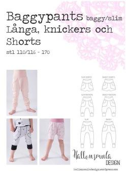 Baggypantsslim - shorts, knickers och långbyxor