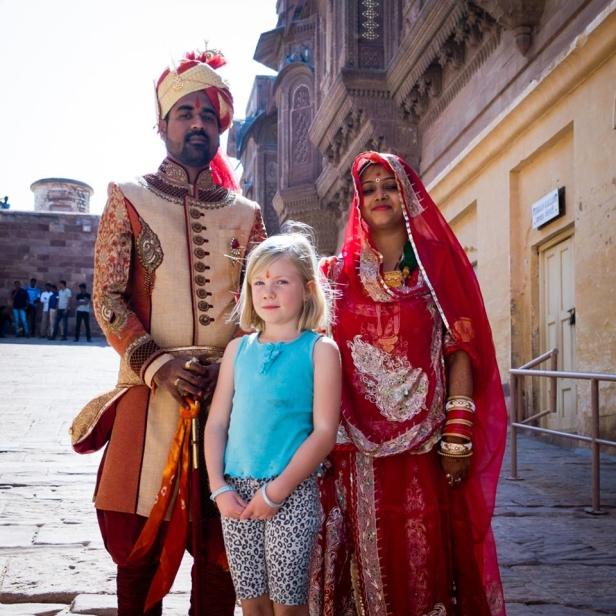 På bröllop i Indien, Foto: Henrik Kullberger