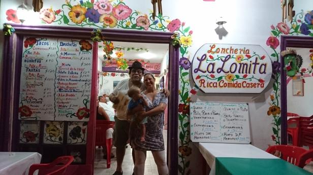 Jag och den busiga ägaren på La Lomita