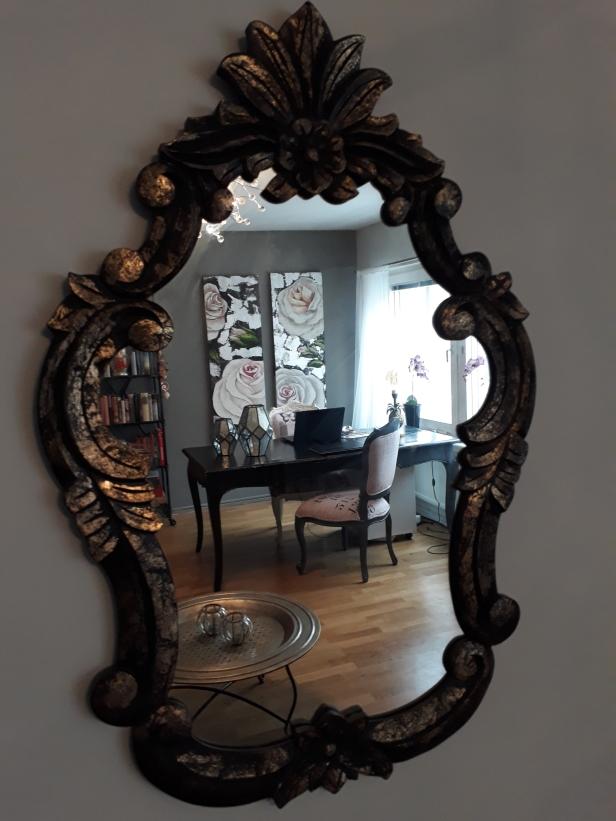 Spegel, spegel på väggen där...