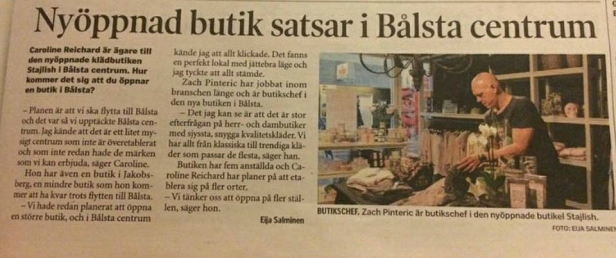 """Tidningsurklipp från tidningen """"Mitt i"""" 17 januari 2015 (klicka på bilden för större text!)"""