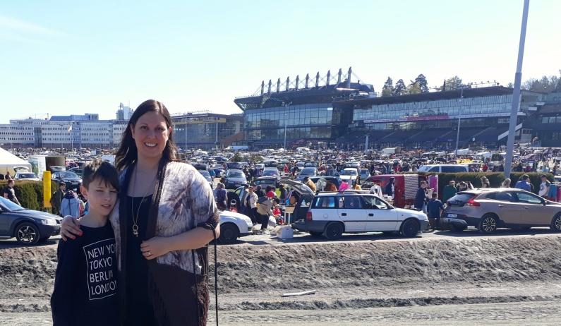 Solvalla var fyllt till bredden med massvis av folk, bilar och fynd!!!