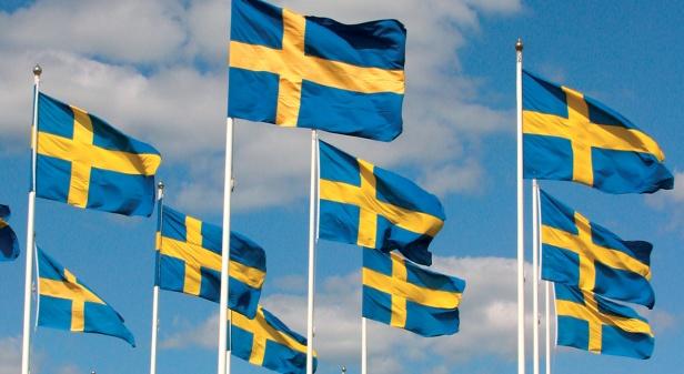 Hipp, hipp, hurraaaaa för Sverige!