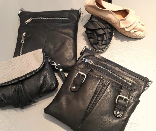 Superfina skor och väskor i mjukt läder från Tim & Simonsen