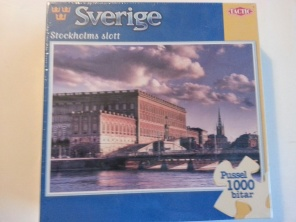 Pussel - Stockholms slott -