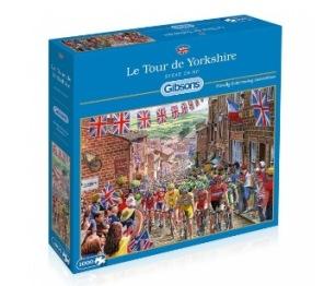Gibsons Pussel - Le Tour de Yorkshire -