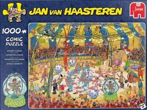 Jan van Haasteren - Acrobat Circus -