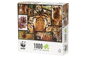 Beg. Pussel - WWF Tiger -