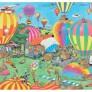 Jan van Haasteren - The Ballon Festival