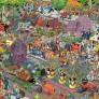 Jan van Haasteren - The Flower Parade