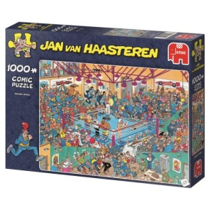 Jan van Haasteren - Boxing Match -