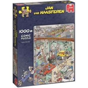 Jan van Haasteren - Cars in the Make -