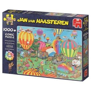 Jan van Haasteren - The Ballon Festival -