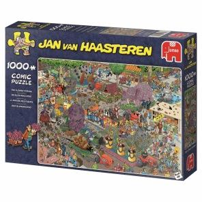 Jan van Haasteren - The Flower Parade -