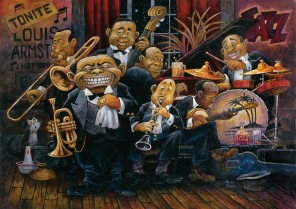 Pussel - Louis Armstrong -