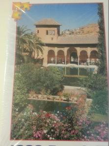Pussel - Alhambra Spanien -