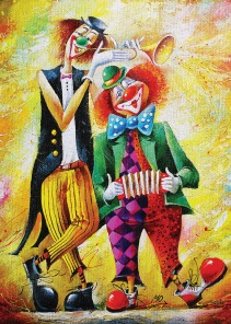 Pussel - The Funny Clown -