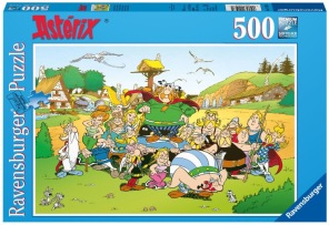 Pussel - Asterix The Village -