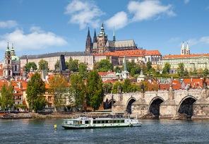 Pussel - Prag i Tjeckien -