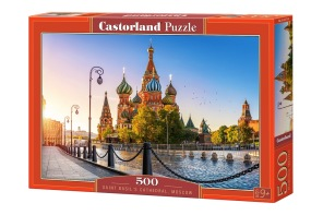 Pussel - Saint Basils Cathedral Moskva -