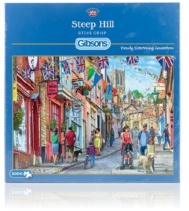 Gibsons Pussel - Steep Hill -