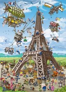 Pussel - Comic Paris -
