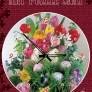 Pussel - Klocka Blommor