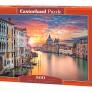 Pussel - Solnedgång i Venedig