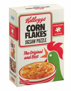 Gibsons Pussel - Cornflakes -