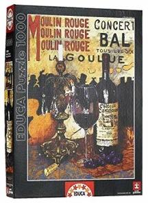 Beg. Pussel - Moulin Rouge -