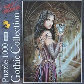 Beg. Pussel - Gothic Collection -