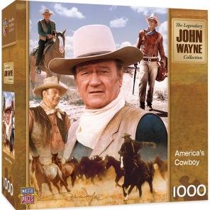 Pussel - John Wayne -