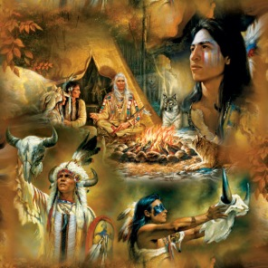 Pussel - Native American Dream -
