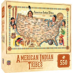 Pussel - American Indian Tribes -