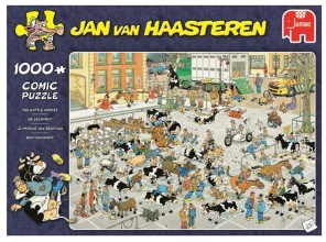 Jan van Haasteren - The Cattle Market -