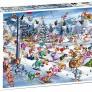 Pussel - Christmas Ski