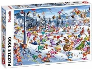 Pussel - Christmas Ski -