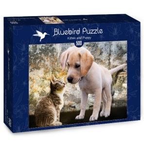 Pussel - Hund & Katter -