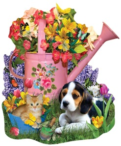 Pussel - Spring Watering Can -