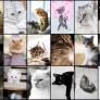 Pussel - Katt Collage